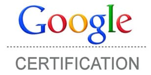 Google SEO certification
